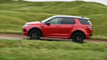 Land Rover Discovery Sport - side action