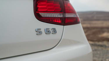 Mercedes-AMG S 63 Coupe - S 63 badge