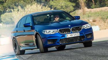 BMW M5 - front