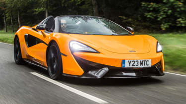Mclaren 570s review - front tracking