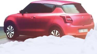 Suzuki Swift 2016 spied 5
