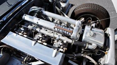 1957 Jaguar XKSS - engine