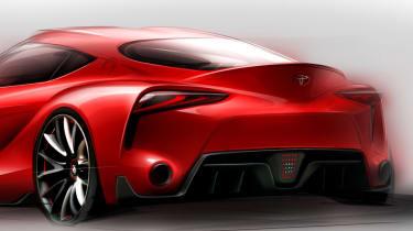 Toyota FT-1 sketch 2