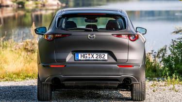 Mazda EV prototype - full rear