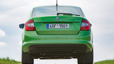 Skoda Rapid - full rear static