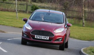Ford Fiesta automatic 2014 front