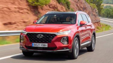 Hyundai Santa Fe - front action