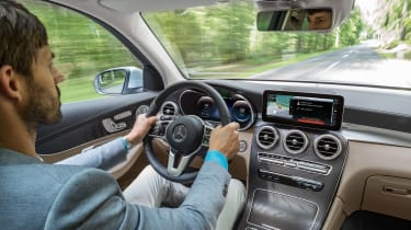 Mercedes GLC F-Cell - dash