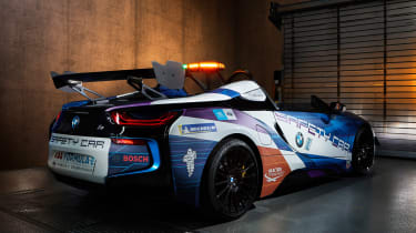BMW i8 Roadster Formula E safety car - rear