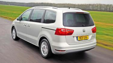 SEAT Alhambra 2.0 TDI SE rear tracking
