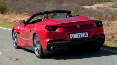 Ferrari Portofino M - rear