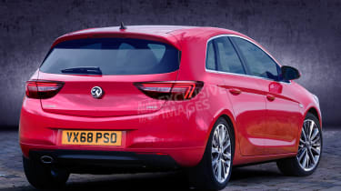 Vauxhall Corsa - rear (watermarked)