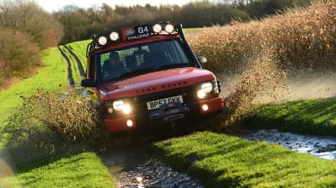 Land Rover Discovery Mk2 - off-road