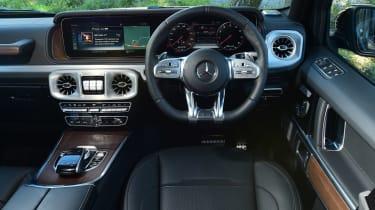 Mercedes G-Class - dash