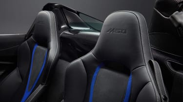 McLaren 720S Spider by MSO - seats