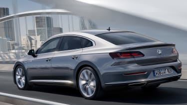 Volkswagen Arteon official - Elegance rear tracking