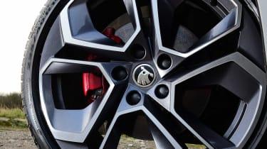 Skoda Octavia vRS diesel - wheel