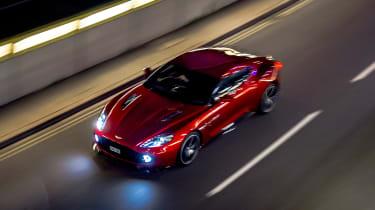 Aston Martin Vanquish Zagato - above
