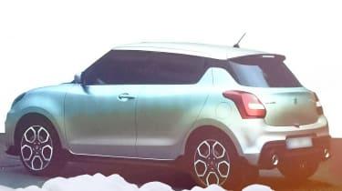Suzuki Swift 2016 spied 2