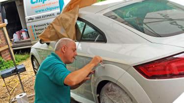 Audi TT long-termer - repair