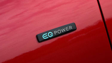 Mercedes E 300 e - EQ Power badge