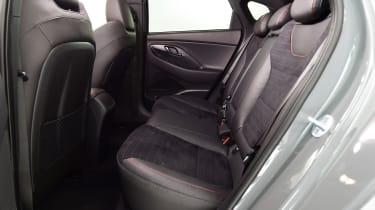 Hyundai i30 Fastback N - rear seats