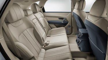 Bentley Bentayga PHEV - rear seats