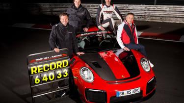 Porsche 911 GT2 RS MR record