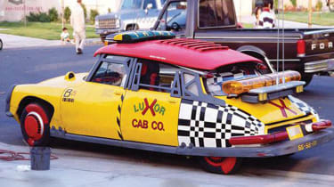 citroen ds taxi back to the future