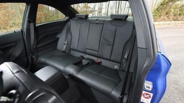 BMW M240i Coupé long term review - rear seats