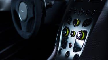 Aston Martin AMR brand - Rapide interior 2