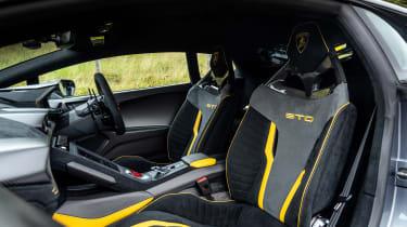 New Lamborghini Huracan STO - interior
