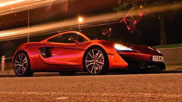 McLaren 570GT long term test final report - front corner low