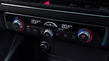Audi A3 climate controls