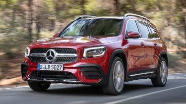 Mercedes GLB - front