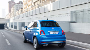 Fiat 500 Mirror special edition 2018 rear tracking