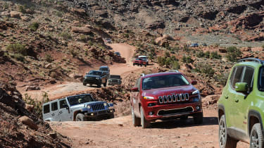 75 years of Jeep - convoy