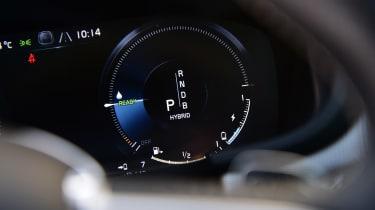 Volvo S90 T8 - dials