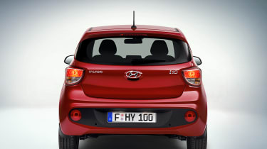 Hyundai i10 2016 facelift - rear