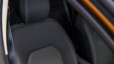 Dacia Duster - front seat