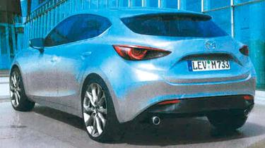 Leaked Mazda 3 rear static