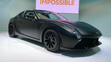 Toyota GR HV concept - Tokyo front