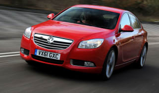 Vauxhall Insignia SRi VX-Line front tracking