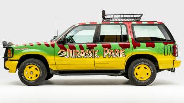 Petersen Automotive Museum - Ford Explorer Jurassic Park - side static