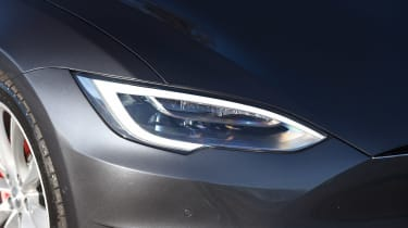 Tesla Model S P100D - front light detail