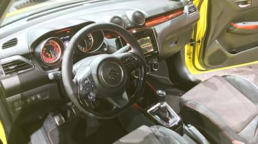 New 2018 Suzuki Swift Sport interior