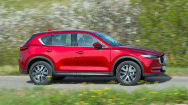 Mazda CX-5 2017 - manual Tuscany side tracking 2