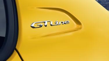Peugeot 208 - GT Line badge