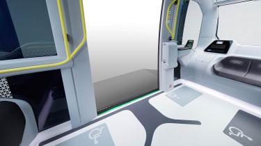 Toyota e-Palette - interior