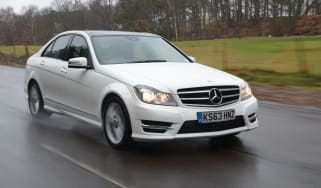 Mercedes C220 CDI AMG Sport Edition front